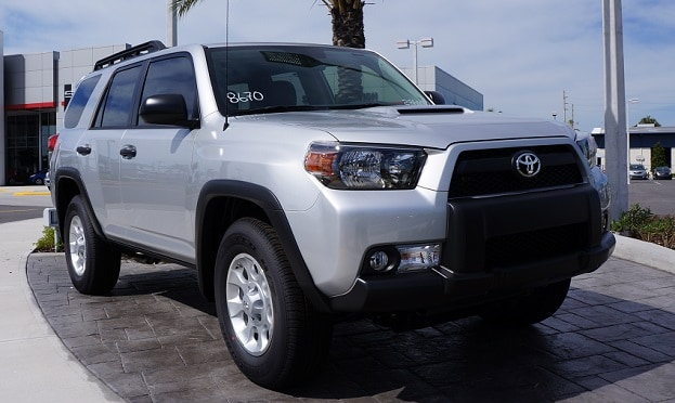 new Toyota 4Runner near Charlotte
