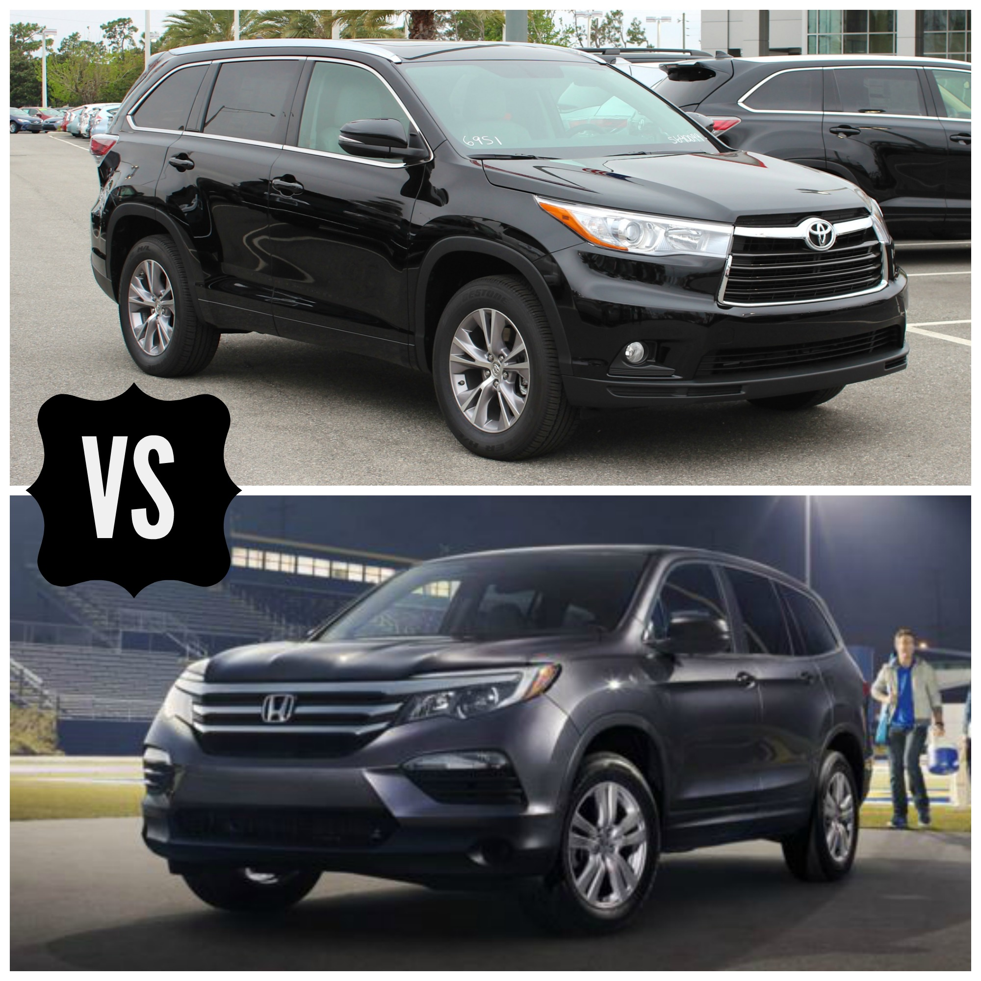 front suv features le toyota wheel drive highlander photo reviews photos price