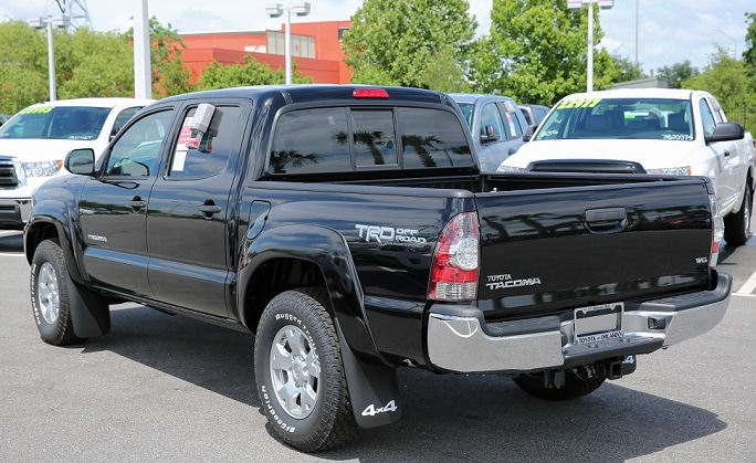 new Toyota trucks in N Charlotte