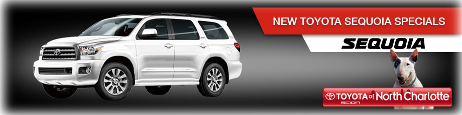 2017 toyota sequoia in n charlotte specials toyota dealer nc. Black Bedroom Furniture Sets. Home Design Ideas