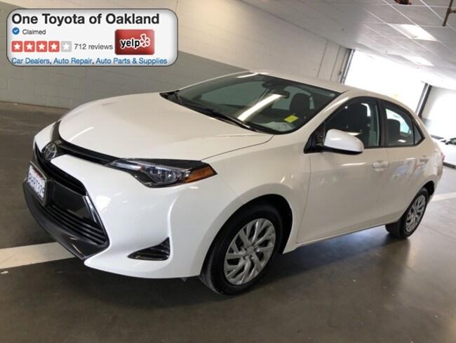 Certified Pre-Owned 2019 Toyota Corolla SE Sedan in Oakland, CA