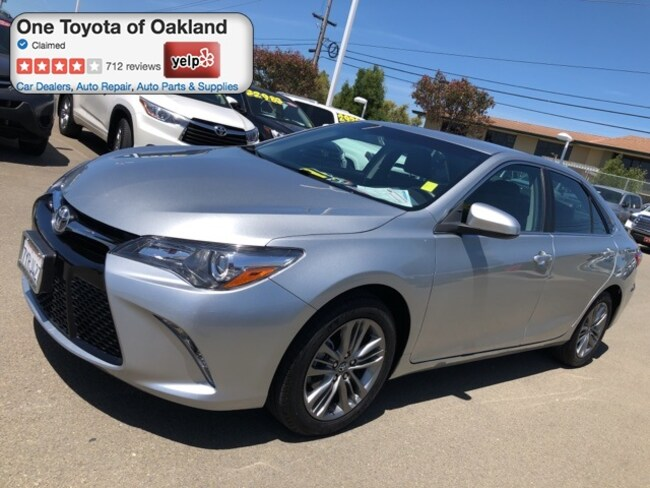 Certified Pre-Owned 2017 Toyota Camry SE Sedan in Oakland, CA