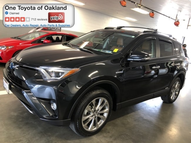 Certified Pre-Owned 2018 Toyota RAV4 Hybrid Limited SUV in Oakland, CA