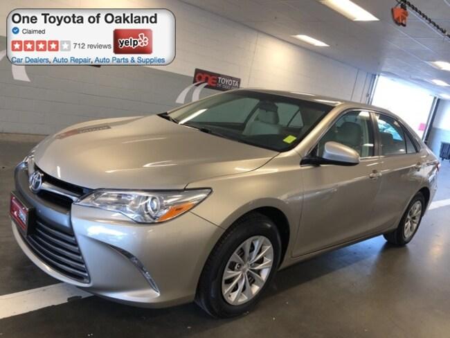Certified Pre-Owned 2016 Toyota Camry Sedan in Oakland, CA