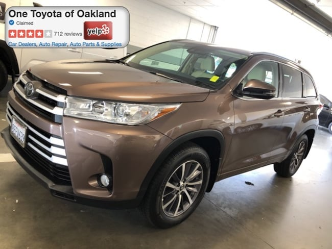 Certified Pre-Owned 2018 Toyota Highlander XLE SUV in Oakland, CA