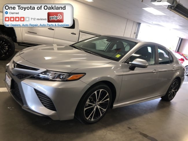 Certified Pre-Owned 2019 Toyota Camry SE Sedan in Oakland, CA