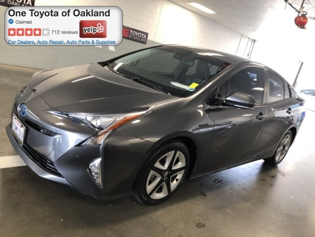 Certified Pre-Owned 2016 Toyota Prius Four Touring Hatchback in Oakland, CA