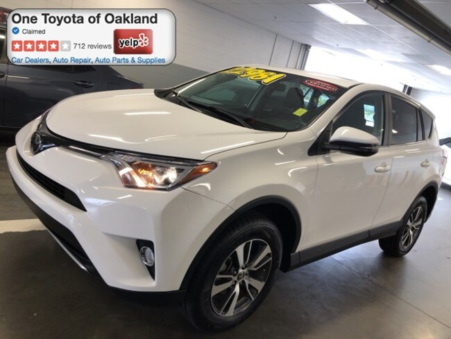 Certified Pre-Owned 2018 Toyota RAV4 XLE SUV in Oakland, CA