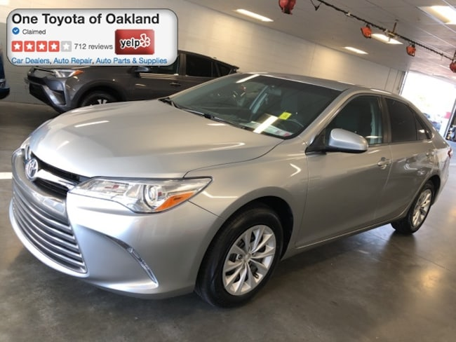 Certified Pre-Owned 2017 Toyota Camry LE Sedan in Oakland, CA