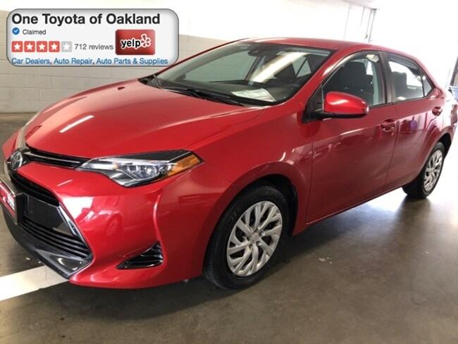 Certified Pre-Owned 2017 Toyota Corolla LE Sedan in Oakland, CA