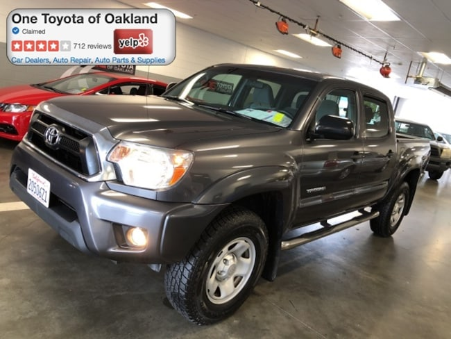 Certified Pre-Owned 2015 Toyota Tacoma Prerunner V6 Truck Double Cab in Oakland, CA