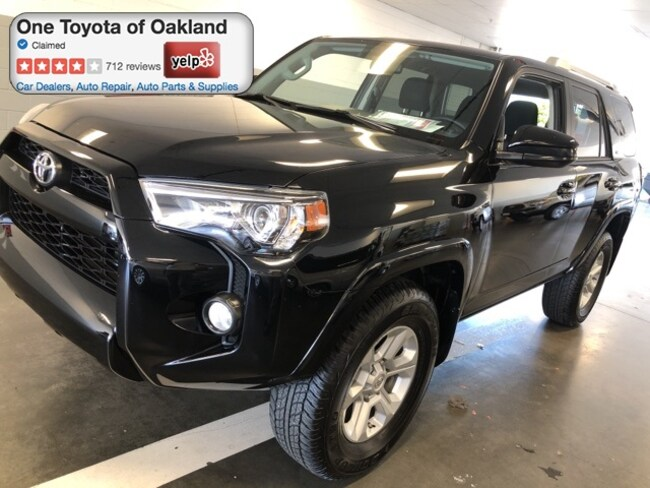 Certified Pre-Owned 2018 Toyota 4Runner SR5 SUV in Oakland, CA