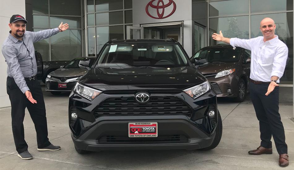 2019 Toyota Rav4 One Toyota Of Oakland