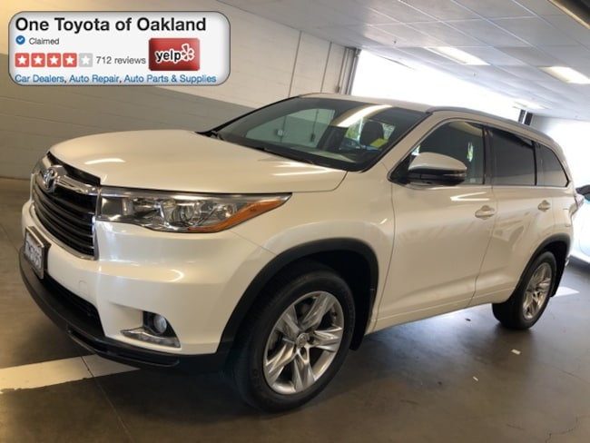 Certified Pre-Owned 2015 Toyota Highlander Limited SUV in Oakland, CA
