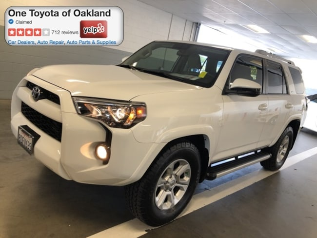Certified Pre-Owned 2015 Toyota 4Runner SR5 SUV in Oakland, CA