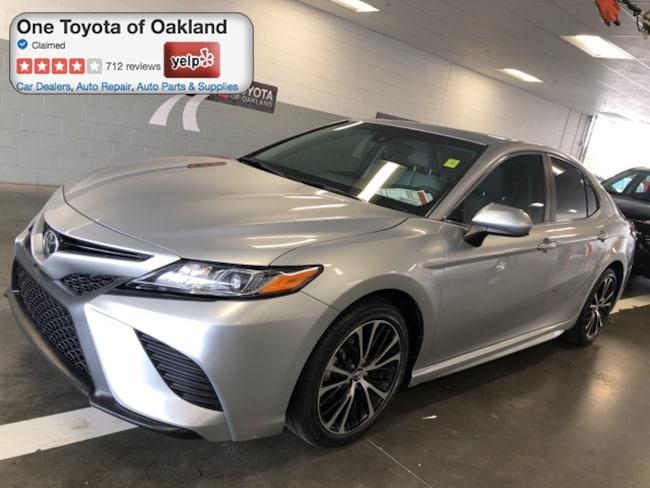 Certified Pre-Owned 2018 Toyota Camry SE Sedan in Oakland, CA