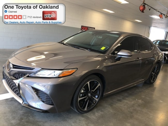 Certified Pre-Owned 2019 Toyota Camry XSE V6 Sedan in Oakland, CA