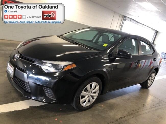 Certified Pre-Owned 2016 Toyota Corolla LE Sedan in Oakland, CA