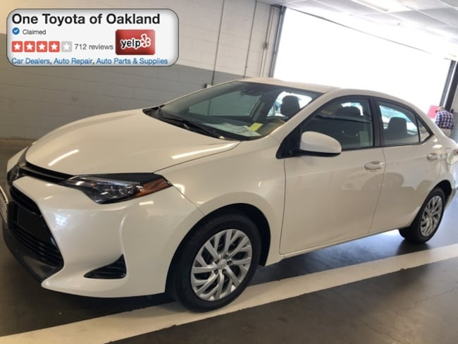 Certified Pre-Owned 2019 Toyota Corolla LE Sedan in Oakland, CA