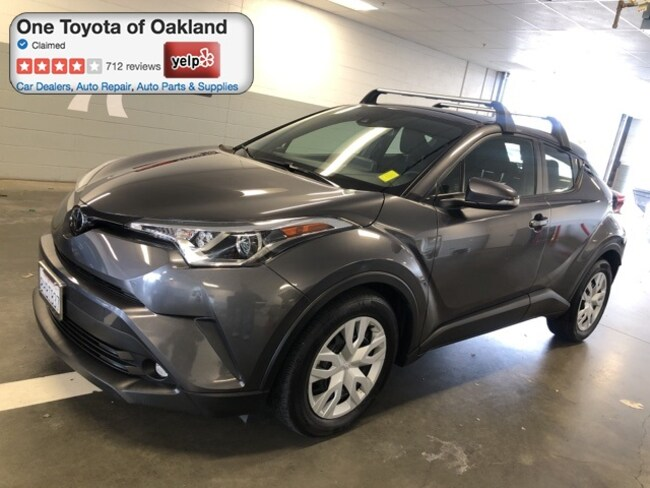 Certified Pre-Owned 2019 Toyota C-HR LE SUV in Oakland, CA