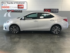 New 2018 Toyota Corolla SE Sedan in Oakland