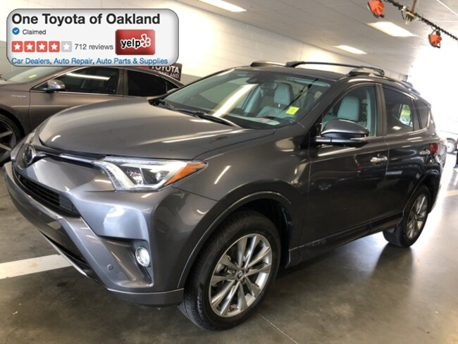 Certified Pre-Owned 2017 Toyota RAV4 Platinum SUV in Oakland, CA