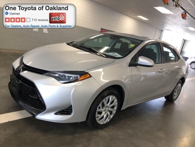 Certified Pre-Owned 2018 Toyota Corolla LE Sedan in Oakland, CA