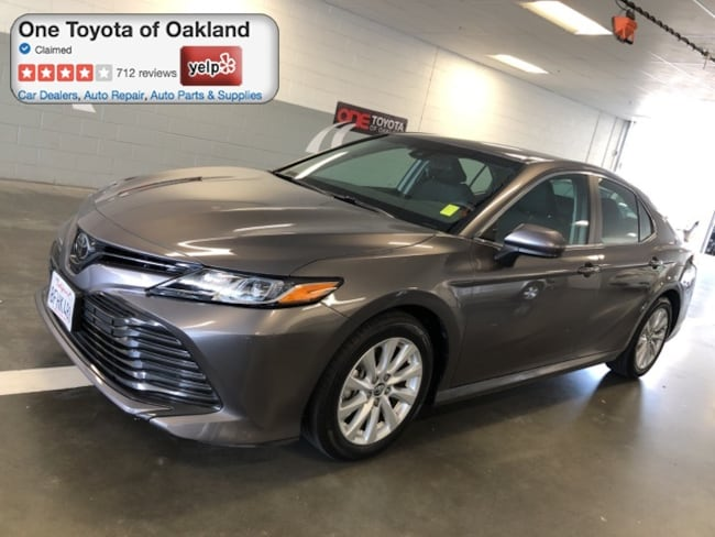 Used 2018 Toyota Camry LE Sedan For Sale in Oakland, CA