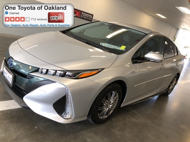 Certified Pre-Owned 2017 Toyota Prius Prime Hatchback in Oakland, CA