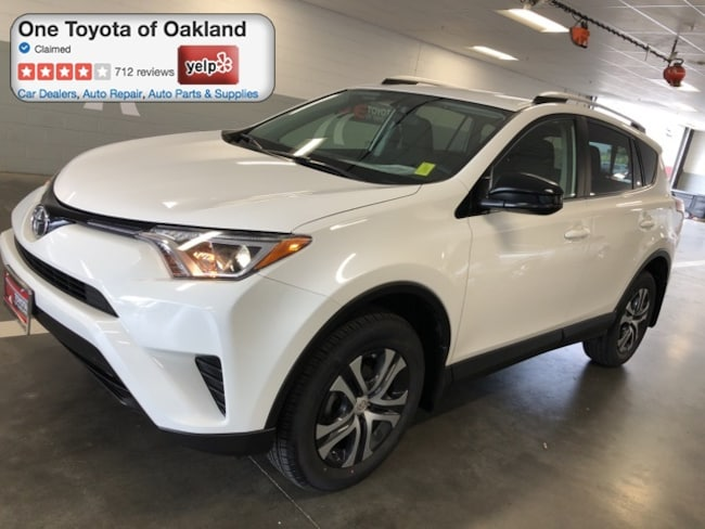 Certified Pre-Owned 2016 Toyota RAV4 LE SUV in Oakland, CA