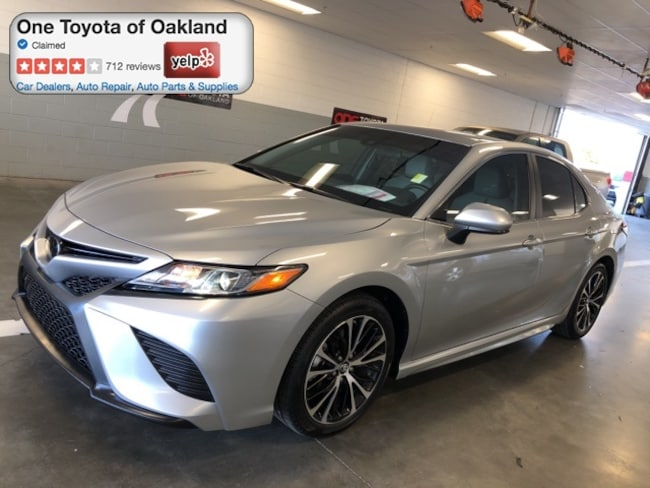 Certified Pre-Owned 2018 Toyota Camry Sedan in Oakland, CA