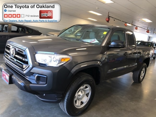 Certified Pre-Owned 2019 Toyota Tacoma SR Truck Access Cab in Oakland, CA