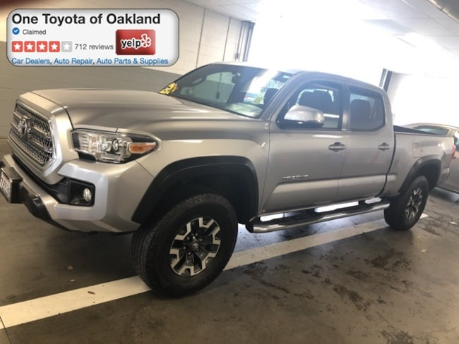 Certified Pre-Owned 2017 Toyota Tacoma TRD Offroad V6 Truck Double Cab in Oakland, CA