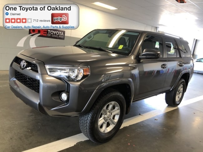 Used 2018 Toyota 4Runner SR5 SUV For Sale in Oakland, CA