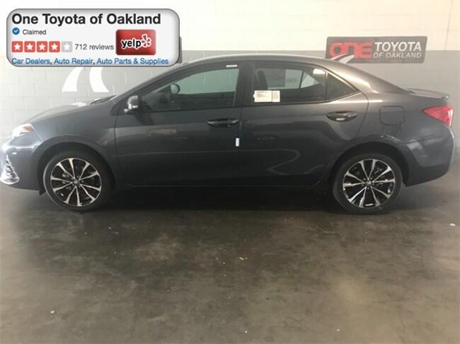 New 2018 Toyota Corolla SE Sedan in Oakland, CA