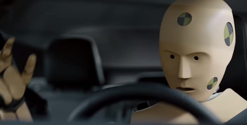 Toyota crash test dummy