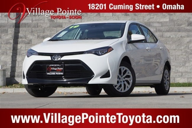 New 2019 Toyota Corolla For Sale Blizzard Pearl 2019 Corolla Le