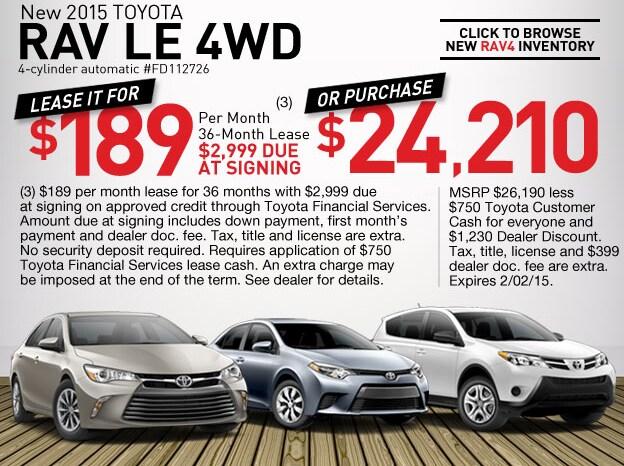 Toyota Dealership Omaha >> New Toyota Special Offers Omaha Ne Nebraska Toyota Dealer