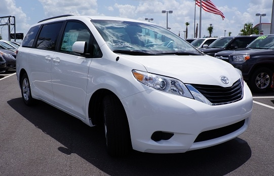 Toyota Sienna in Orlando for sale