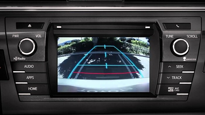backup camera feature