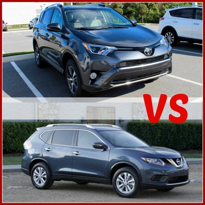 2016 toyota rav4 vs nissan rogue car comparisons. Black Bedroom Furniture Sets. Home Design Ideas