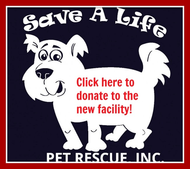 Save A Life Pet Rescue donations