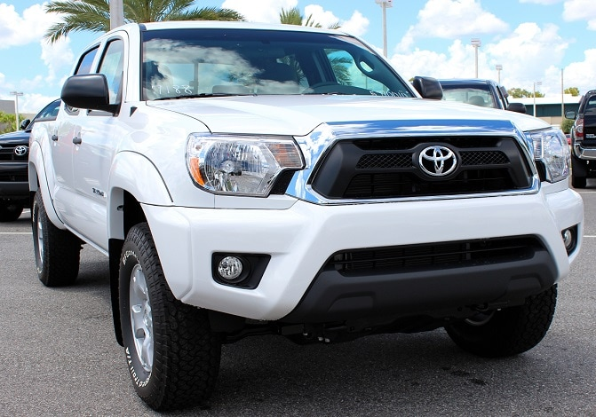 new Toyota truck for sale