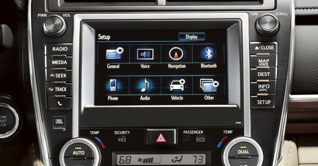 New Toyota Entune Audio System