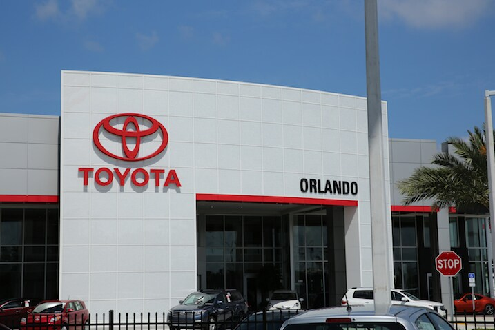 New Toyota in Central Florida