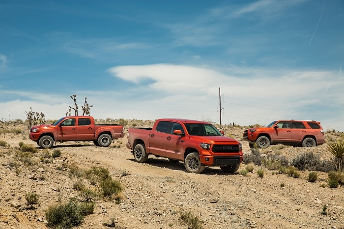 new Toyota truck packages