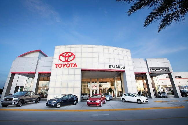 New Orlando Toyota dealership