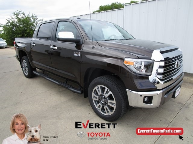 2019 Toyota Tundra 1794 5.7L V8 Truck CrewMax For Sale In Paris, TX