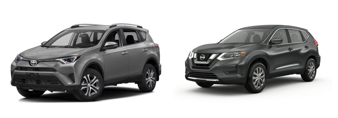 Compare 2017 RAV4 Vs Nissan Rogue In Paris, TX