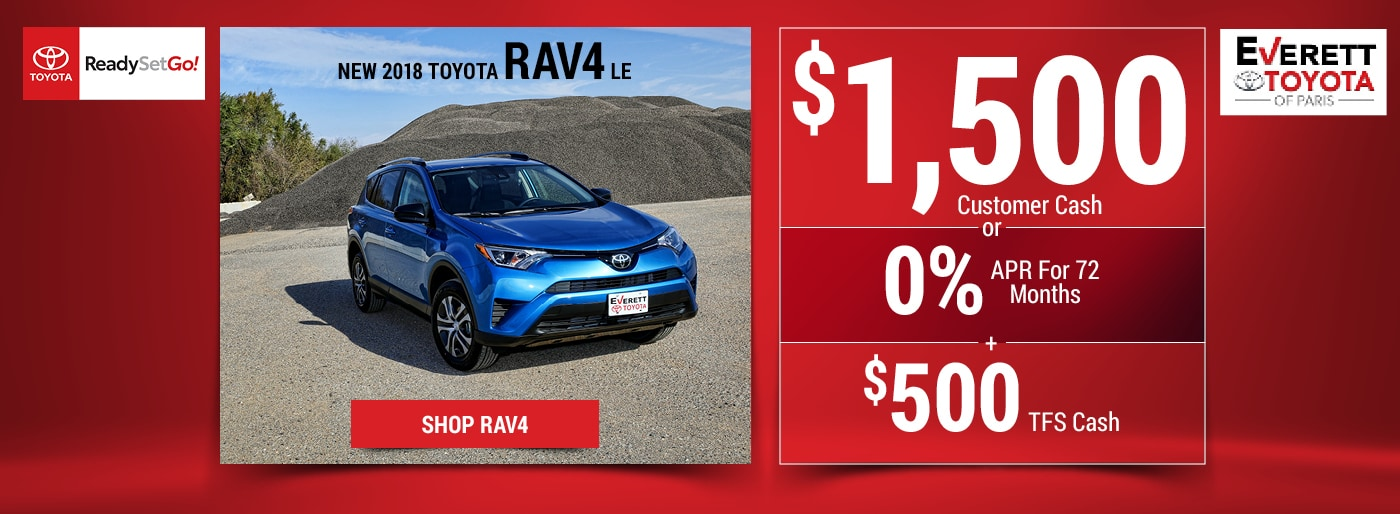 Everett Toyota of Paris: Toyota Dealership Paris TX ...